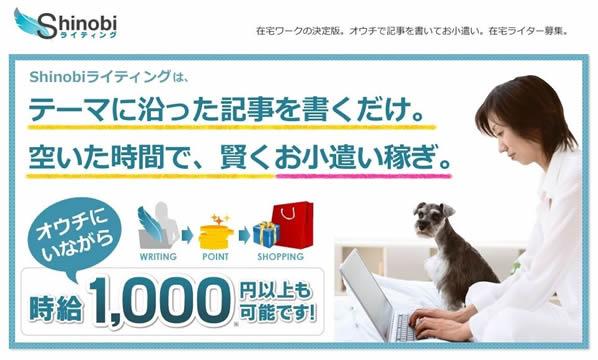 shinobiライティングのイメージ