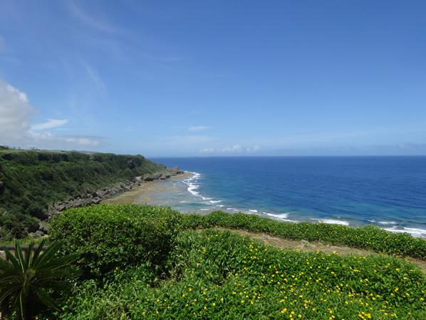 太平洋が一望