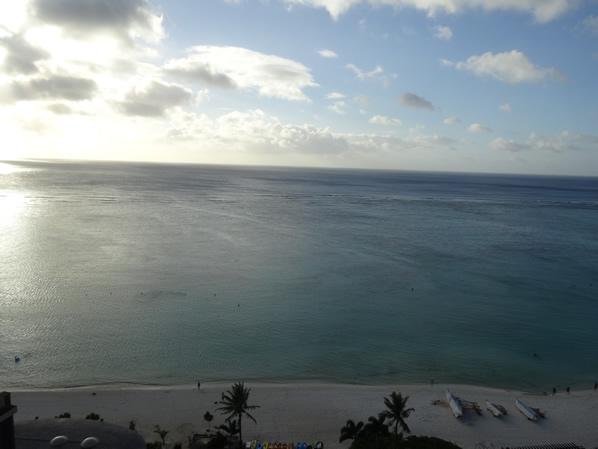 オーシャンビュー:Guam海