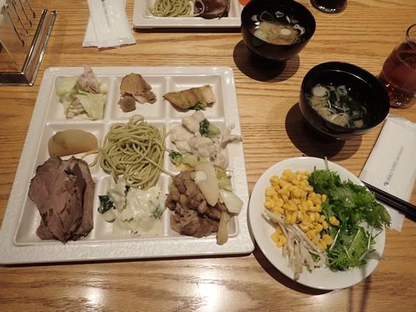 日航成田のセリーナ料理