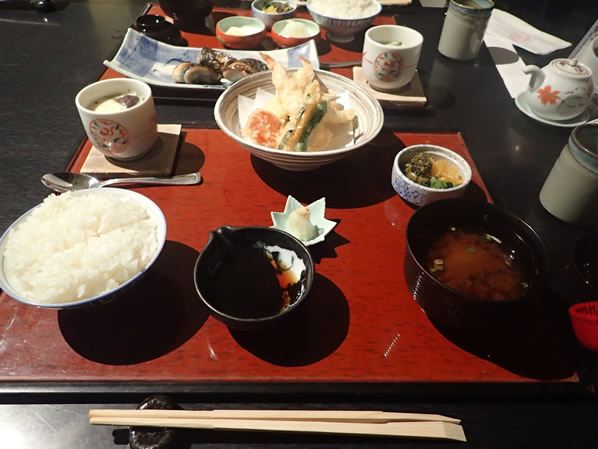 弁慶の夕食