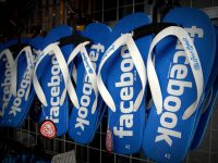 facebookのサンダル
